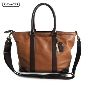 Coach Bleecker Business Tote Harness Leather 71026
